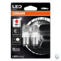Bec LED rosu 21/5w Osram LEDriving Premium 1557R-02B BAY15d RED P21/5W