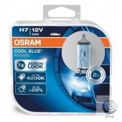 Bec auto OSRAM COOL BLUE Intense H7 4200K 2buc/set