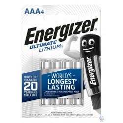 Baterie litiu ENERGIZER Ultimate Lithium AAA R3 L92 4buc/blister