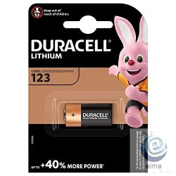 Baterie litiu DURACELL DL123A CR123A EL123A 3V Ultra Photo lithium blister 1