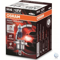Bec auto OSRAM Night Breaker LASER H4 +130%